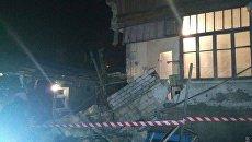 Частичное обрушение жилого дома в Одессе