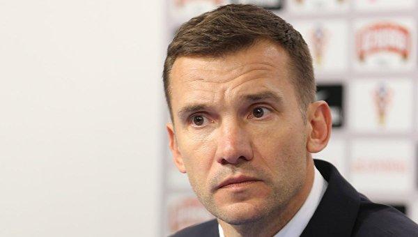 Главный Тренер Национальной сборной Украины по футболу Андрей Шевченко