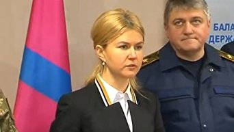 Глава ХОГА Юлия Светличная о ситуации в Балаклеевском районе. Видео