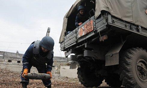 Последствия взрывов в Балаклее: работа спасателей