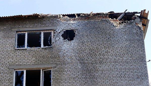 В «ДНР» докладывают оранении мирного жителя— Ночной обстрел Горловки