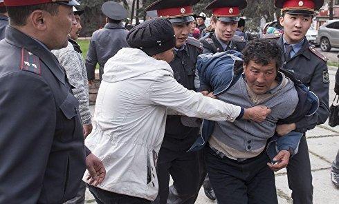 Задержания в Киргизии