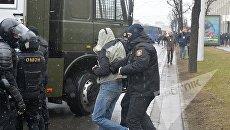 Массовые задержания активистов в Минске