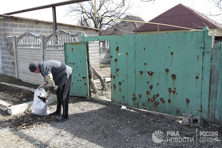 Оккупанты ударили пожилым кварталам Авдеевки из«Градов»