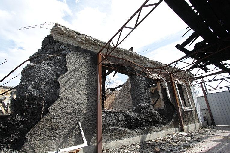 Минобороны уточнило число разрушенных домов— Обстрел Авдеевки
