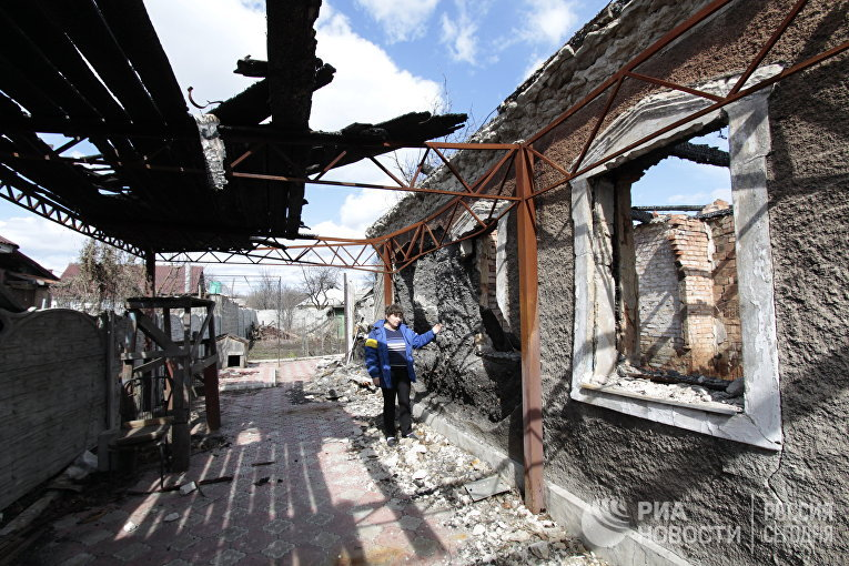 Боевики «ДНР» с употреблением «Градов» обстреляли жилой сектор Авдеевки,— Аброськин