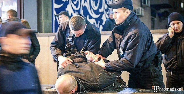 Стрельба в центре Киева