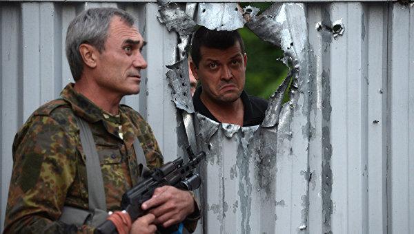 Ополченцы самопровозглашенной ЛНР. Архивное фото