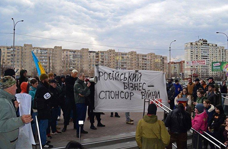 Песков: Кремль обеспокоен притеснением русских банков вУкраинском государстве