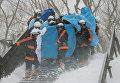 В Японии сошла лавина