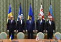 Подписание протоколов о создании ЗСТ и взаимного признания результатов таможенных процедур в рамках саммита стран-участниц ГУАМ