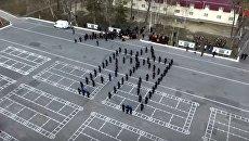 Почетный караул Национальной гвардии Украины. Видео