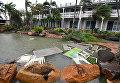 Мощный циклон Дебби в Австралии