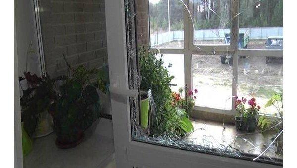 Ограбление дома в селе Сухолучье под Киевом