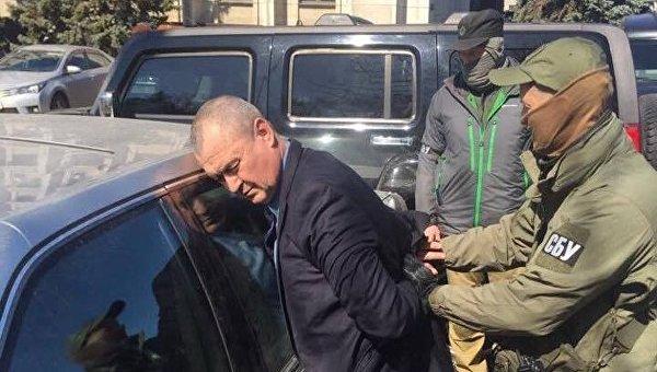 Задержание начальника управления по вопросам чрезвычайных ситуаций и оборонной работе Одесской ОГА Сергея Помазана