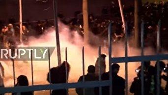 Беспорядки и столкновения с полицией в Париже. Видео