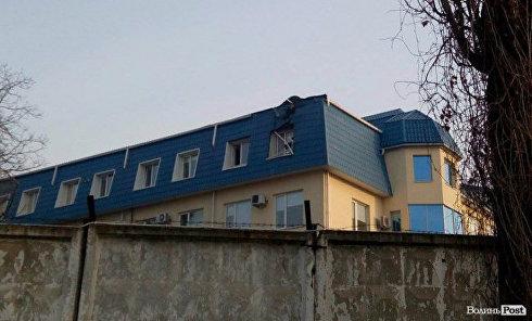 На месте ЧП с Генконсульством Польши в Луцке