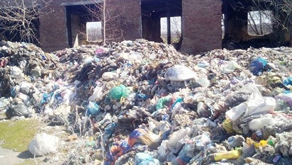 Львовский мусор обнаружен в Обуховском районе под Киевом