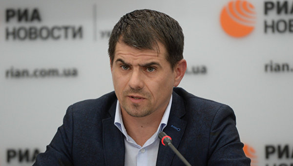 Глава Ассоциации владельцев малого и среднего бизнеса г. Киева Руслан Соболь