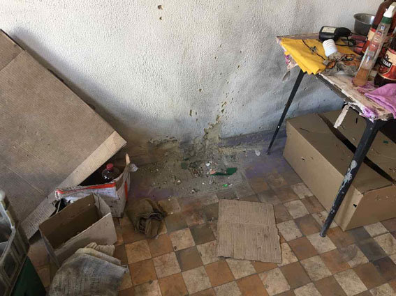 В Красногоровке по магазину выстрелили из гранатомета