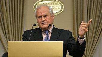 Спецпредставитель Организации по безопасности и сотрудничеству в Европе (ОБСЕ) по Украине Мартин Сайдик. Архивное фото