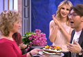 Наталья Лобода испекла торт Андрею Малахову