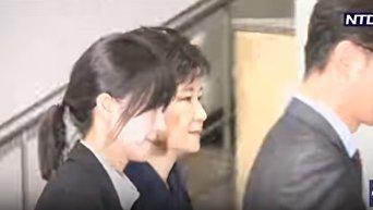 Арест экс-президента Южной Кореи. Видео