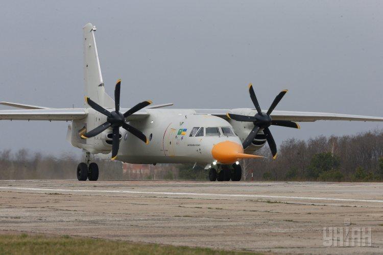 Первый полет нового самолета Ан-132Д