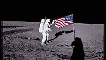 Time опубликовал неизвестные фотографии, сделанные во время лунных миссий