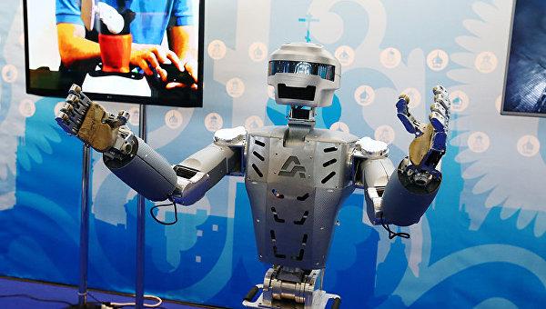 Управлять новым русским космическим кораблем «Федерация» будет робот Федор