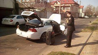 Взрыв авто в Одессе