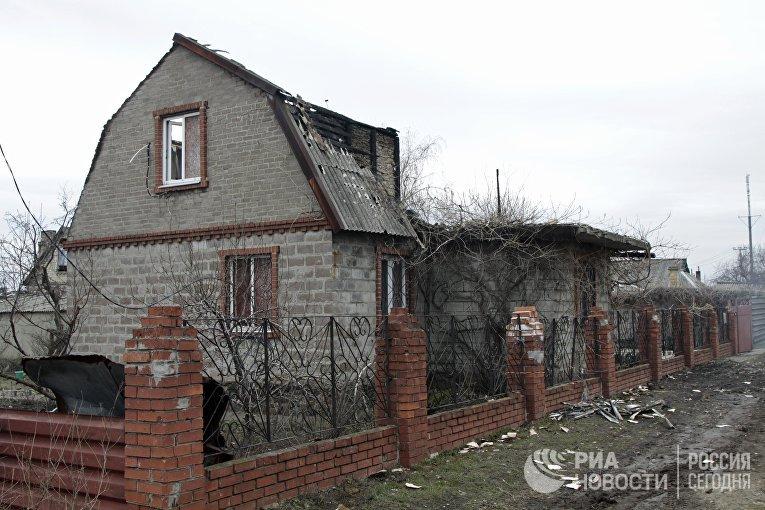 ВСУ засутки 36 раз нарушили перемирие вДНР, есть разрушения