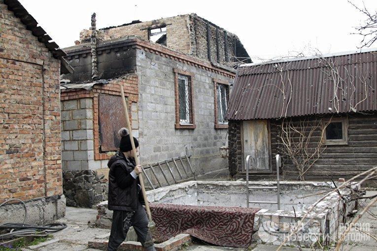 Обстрелами состороны ВСУ засутки вДНР повреждено 17 домов