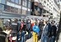 Ситуация около Дома профсоюзов в Киеве