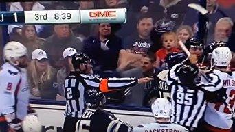 Овечкин спровоцировал массовую драку в матче НХЛ
