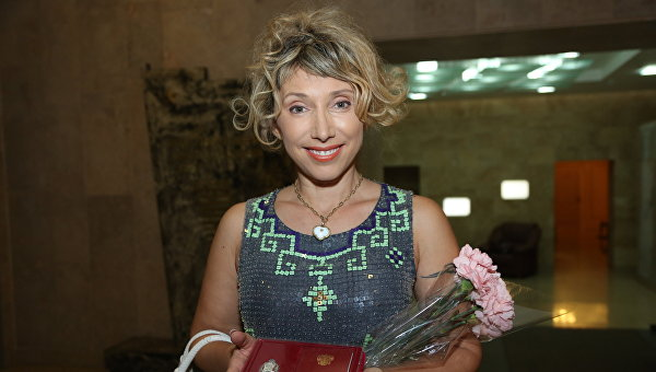 Актриса Елена Воробей. Архивное фото