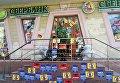 Активисты  замуровали вход в отделение Альфа-банка в Одессе