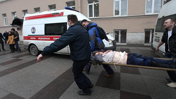 Взрыв в метро Санкт- Петербурга