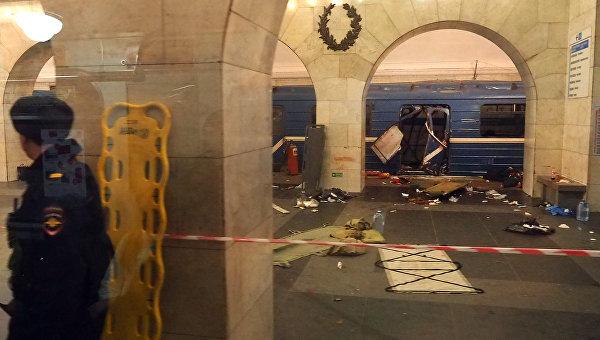 Взрыв в метро