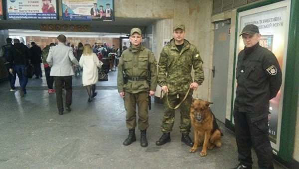 Усиление мер безопасности в метро Киева