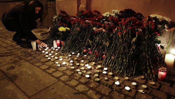 Взорвавший бомбу вПетербурге террорист, вероятно, действовал отдельно — Следствие