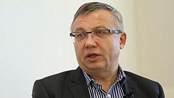 Ректор Международного института бизнеса ибывший заместитель главы НБУ Александр Савченко