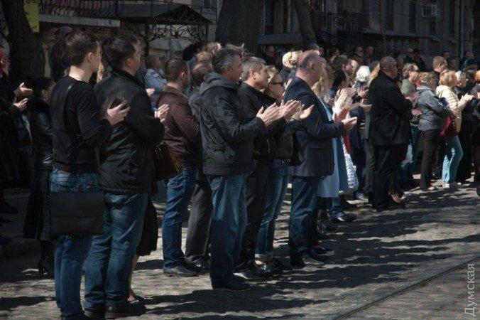 Одесса аплодисментами простилась сартистом Сергеем Олехом