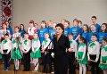 Марина Порошенко посетила Рижскую украинскую среднюю школу