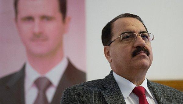 Посол Сирии в РФ Рияд Хаддад
