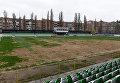 Состояние газона на стадионе в Полтаве