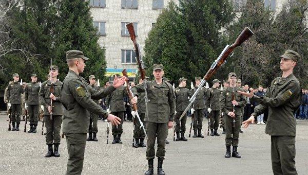 Призыв в армию в Харькове. Архивное фото