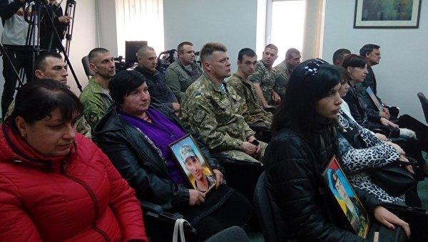 Награждение посмертно погибших на Ил-76 в Луганске в 2014 году