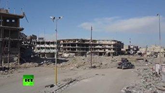 Разрушенный Мосул. Видео