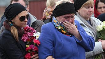 Похороны жертв теракта в Санкт-Петербурге